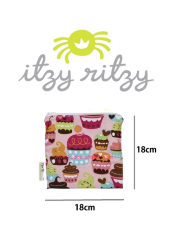 ITZY RITZY Snack Happens Snack & Everything Bag